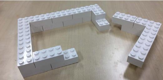 図5 ブロック壁の作り方