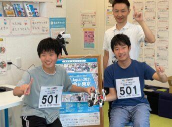 WRO Japan2021全国大会群馬代表「つばめ蜂」